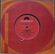"OS FAMKS 1973 ""Altamira"" Funk Soul Groove Breaks RARE! 7"" 45 Single BRAZIL HEAR"