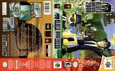 -Blues Brothers 2000 N64 Replacement Game Case Box + Cover Art Only