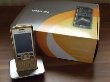 Nokia 6300i-gold W-Lan Funktion (Ohne Sim.) Handy mit Ladestation! +neu cover