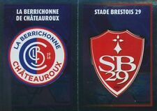 547 ECUSSONS STADE BRESTOIS 29 CHATEAUROUX LIGUE 2  STICKER PANINI FOOT 2018