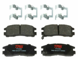 For 1991-1996 Dodge Stealth Brake Pad Set Rear TRW 21775DH 1992 1993 1994 1995