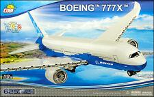 COBI Boeing 777X (26602) - 625 elem. - American jet airliner