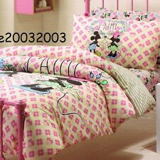 Disney Mickey Minnie Mouse - J'Aime - Single/US Twin Bed Quilt Doona Duvet Cover