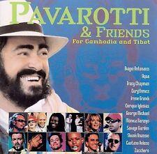 LN RARE! Pavarotti & Friends for Cambodia and Tibet CD-Tracy Chapman/Eurythmics