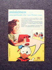 K680-Advertising Pubblicità-1974- MINICINEX HARBERT , PROIETTORE