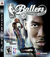 NBA Ballers: Chosen One (Sony PlayStation 3, 2008) COMPLETE BASKETBALL PS3 SPORT