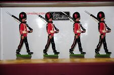 BRITAINS 50001C COLDSTREAM GUARDS MARCHING METAL TOY SOLDIER FIGURE SET 2