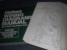 1979 CHEVROLET MALIBU MONTE CARLO EL CAMINO WIRING DIAGRAMS SHEETS SET