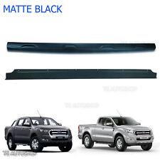 Line Tailgate Cover Matte Black Back Fit Ford Ranger Ute T6 Facelift 2016 2017