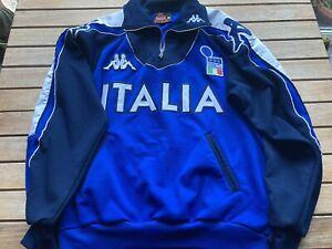 Italy Football Track Jacket Shirt Kappa 2000