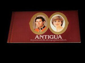 Vintage Stamp, BOOKLET,  ANTIGUA, 1981, MNH, Prince Charles & Diana Wedding