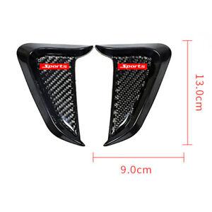 Shark Gills Decoration Trim Cover Sticker For Car SUV Side Fender Air Vent 2Pcs