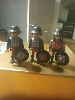 Playmobil Medieval Knights Soldiers Of Castle X 3