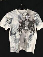 Xzavier Mens Metallic Graphic T-Shirt Large