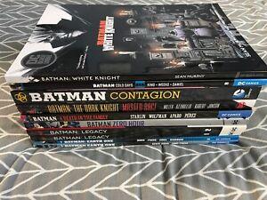 DC BATMAN GRAPHIC NOVELS TRADE PAPERBACK LOT Of 10