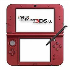 Nintendo 3ds LL XL Metallic Metalic Red Console System Japan At0403