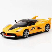 1:32 Ferrari FXX K Metall Die Cast Modellauto Auto Spielzeug Model Sammlung Gelb