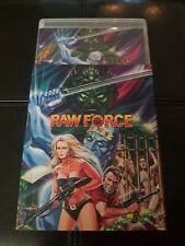RAW FORCE Blu-Ray Limited Ed 1/1000 Kung-Fu ZOMBIE Gore w/RARE SLIPCOVER OOP NEW
