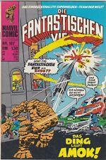 DIE FANTASTISCHEN VIER # 107 - MARVEL / WILLIAMS 1978 - ZUSTAND 1