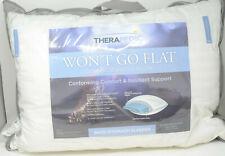 Therapedic - Won't Go Flat Down-Alternative Pillow for Back/Stomach Sleeper