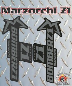 Marzocchi Z1 2018 Style Style Fork Sticker Decal Graphics Enduro, DH, stealth