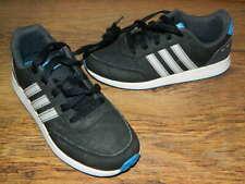 kids Adidas black/grey/blue lace up trainers uk 1 eur 33