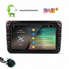 "For VW Golf Passat Jetta 8"" Android 6.0 Car Radio GPS Navi Bluetooth Stereo DAB+"