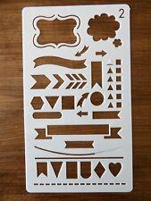 Forma simple Cruz Stencil fuerte Mylar de 350 micrones no Hobby cosas #SSS003
