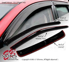 Outside Mount Rain Visor Sun roof Type 2 3pc For Hyundai Elantra Coupe 2011-2016