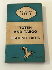 Totem And Taboo by Sigmund Freud - Pelican Books 1938 - Vintage P/B Book -