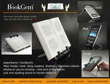 BookGem Book Holder, Tablet, iPad & eBook Holder