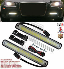 UNIVERSAL LED DAYTIME RUNNING LIGHTS FOG COB WATERPROOF DXZ-COB-MS-Audi 1