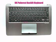UK Gray Palmrest backlit keyboard for Asus ZenBook UX360U UX360UA Q324U Q324UA