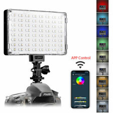 Gvm Rgb Led On Camera Photographic Lighting Photo Studio 128 Beads Wireless WiFi