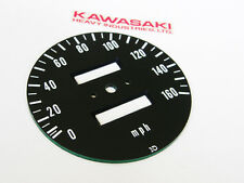 early 1972-73 Kawasaki z1 gauge speedo SPEEDOMETER FACE PLATE instrument cluster