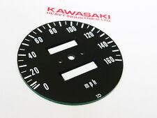 early 1972-73 Kawasaki z1 gauge speedo SPEEDOMETER FACE PLATE instrument cluster