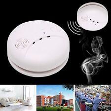 433MHz Smoke Sensor Alarm Wireless Fire Detector Home Security System Portable