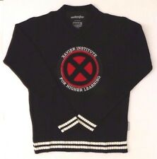 Marvel Welovefine Xavier Institute For Higher Learning Men's V-Neck Sweater NWT