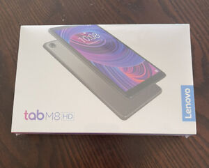 "Lenovo Tab M8 TabM8 HD 8"" Tablet 16GB - Iron Gray - BRAND NEW Factory Sealed"