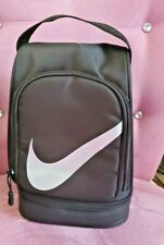 Nike Fuel Pack Lunch Tote Triple Black Bag Insulated Zipper