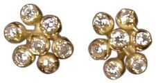 NEW Fireworks-7 Earrings-18K gold & diamonds-Symmetric-Celebrate Life, Love, All