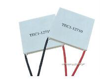 2pcs TEC1-12710 TEC Thermoelectric Cooler Peltier Module CPU Plate 40mm s811-2