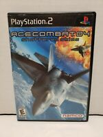 Ace Combat 04 Shattered SkiesSony PlayStation 2 PS2 Complete in Box CIB