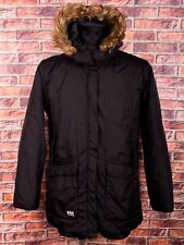 Helly Hansen Men Fur Hooded Coat Parka Jacket Size L