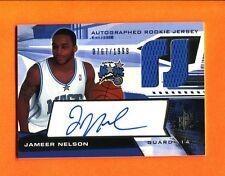 2004-05 SPx Jameer Nelson Autograph Jersey RC Magic /1999