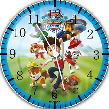 Paw Patrol Frameless Borderless Wall Clock For Gifts or Home Decor E69