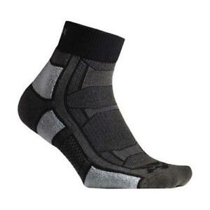 Thorlos Unisex 186614 Outdoor Athlete Quarter Length Crew Cut Sock Size S