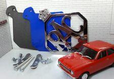 De Colección Clásico Coche Furgoneta RAC del panel frontal de Metal Rejilla de Coche Insignia, Junta & Fijaciones