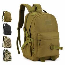 Heavy Duty Nylon Waist Bag Military Rucksack School Hiking Tactical Backpack 40L