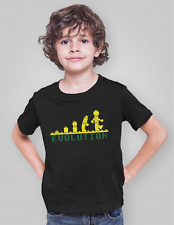 Evolution of Lego T-shirt Funny Boys Kids Childrens Clothing Size 3 - 13 Years